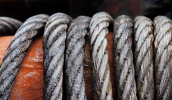 Cables de acero alta resistencia