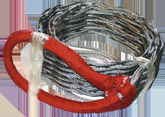 Mallas de cable de acero